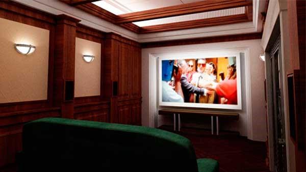 кинозал в умном доме